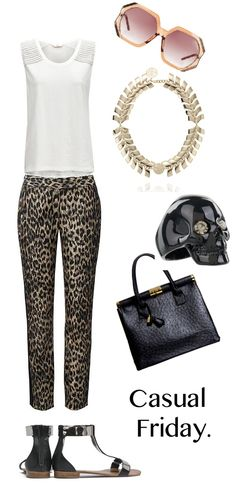 Too Hot Not To Adorn: Textured Pants. http://thefashioncatalyst.com/site/2012/11/look-of-the-week-textured-pants-and-pops-of-metallic/