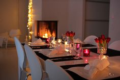 Dukning hos All you need is White All You Need Is, Wonderful Time, Sweet Home, December, Table Settings, Tables, Girly, Decoration, Winter
