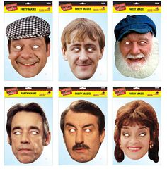 Only Fools And Horses Official Card Party Face Masks Variety 6 Pack - Trotter Horse Birthday, 40th Birthday, David Jason, Only Fools And Horses, Party Face Masks, Horse Wedding, Horse Party, Card Party, Horse Face