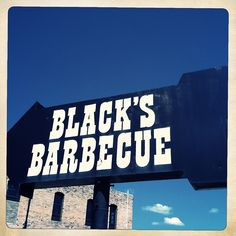 If you're driving through Lockhart in search of good BBQ, just look for this sign.  Its hard to miss.