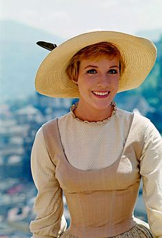 Julie Andrews in 'The Sound of Music' - one of my absolute favorite movies of all time.