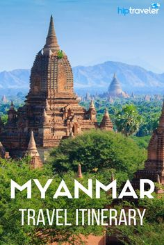 Bucket-list destinations to visit in Myanmar (Burma), a guide to the best that Myanmar has to offer including Yangon, Bagan, Inle Lake and Mandalay.   Blog by HipTraveler: Bookable Travel Stories from the World's Top Travelers