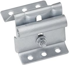 National Hardware V7628 2-1/2-Inch Wide Garage Door Adjustable Top Roller Brackets with Bolts and Nuts, Galvanized by National. $6.00. From the Manufacturer                Use this 2-1/2-Inch wide adjustable top bracket to replace worn or broken roller brackets at the top section of roll-up doors.                                    Product Description                With carriage bolts. Adjust from 3 4'' to 3''. Used with overhead sectional style doors. Galvanized finish.