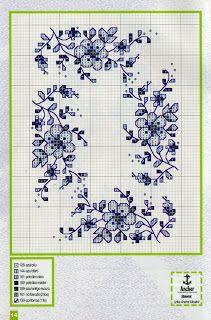 Lindos Mini-motivos para bordar em ponto Cruz | Ponto Cruz-Cross Stitch-Punto Cruz-十字绣-Punto Croce-Kreuzstitch-Point de Croix-вышивк
