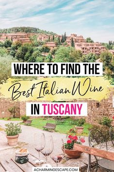 Tuscany Wine Tasting Guide: Where to Find the Best Wineries in Tuscany. When in Tuscany, you have to try the wines. Enjoy touring gorgeous wineries in this beautiful Italian regions and sample some of the best wines in the county. | Best wine tasting Tuscany, Italy | Tuscany wine tasting | Wine tasting in Chianti, Montalcino, Montepulciano | Brunello wine tasting | Visit Tuscany, Italy | Italy wine tasting | Best wine tasting in Italy | Italy travel | Italy Italy, Tuscany Italy, Best Italian Wines, Chianti Wine, Brunello Di Montalcino, Famous Wines, Wineries, Wine Tasting, Italy Travel