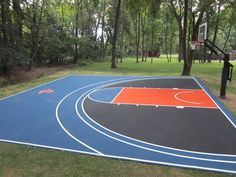 Home Basketball Court - eclectic - landscape - new york - SportMaster Sport Surfaces