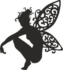 Fairies Silhouette Cutouts