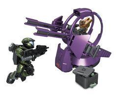 Amazon.com: Mega Bloks Halo Covenant Shade Turret: Toys & Games