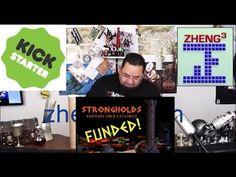 Kickstarter - Strongholds: Fantasy Dice Citadels - Rewards unboxing