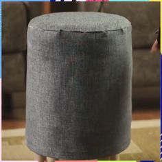 Make yourself comfortable with this DIY ottoman😍 Diy Crafts For Home Decor, Handmade Home Decor, Diy Room Decor, Aluminum Pergola, Retractable Pergola, Diy Stool, Diy Ottoman, Pergola Shade, Outdoor Pergola