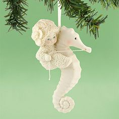 Image result for sea horse xmas ornaments