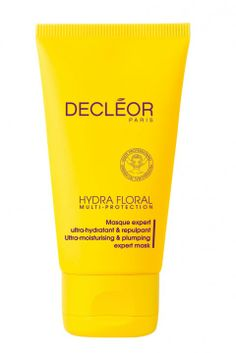 Hydra Floral Ultra-Moisturizing and Plumping Expert Mask by Decléor Moisturizing Face Mask, Hydrating Mask, Face Care, Skin Care, Neroli Essential Oil, Mask Online, Anti Aging Treatments, Summer Skin, Cream Roses