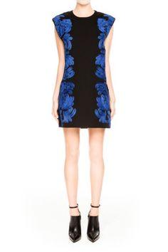 Cameo | The Maker Dress | Black/Cobalt Blue | Shop Now | BNKR