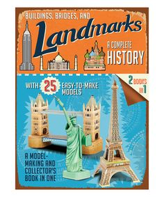 Look what I found on #zulily! Buildings, Bridges, & Landmarks: Press-Out Model Kit #zulilyfinds