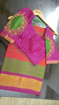 Cutwork Blouse Designs, Best Blouse Designs, Pattu Saree Blouse Designs, Bridal Blouse Designs, Cut Work Blouse, Maggam Work Designs, Designer Blouse Patterns, Blouse Models, Sleeve Designs