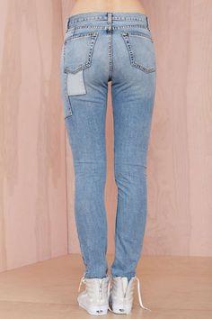 Piece and Love Boyfriend Jeans