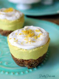 Low-Carb Lemon Ginger 'Cheesecake' {Vegan, Paleo, Keto} - Powered by @ultimaterecipe