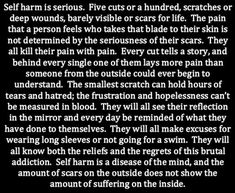 hating yourself   Tumblr self harm <3  please get help!