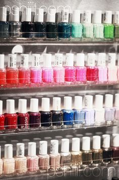 NAIL POLISH! I have 106 bottles, or maybe a little more! (The world record of the person with the most has like 1.1k, and it's my goal to beat that! But I still don't have Mint Candy Apple and I really want it!)