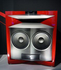JBL's Eye Candy: the Everest Horn-Loaded Speaker