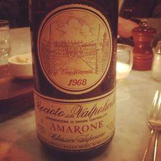 Amarone 1968 vintage!