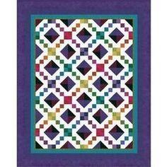 Jewel Box Quilt - Free .PDF pattern from Jinny Beyer Studio.