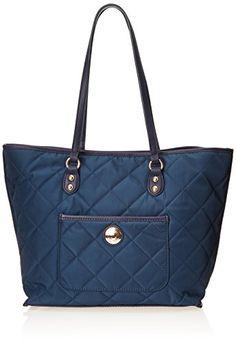 Tommy Hilfiger Solid Nylon All In One Shopper Shoulder Bag, Navy, One Size Tommy Hilfiger http://www.amazon.com/dp/B00OIZE5PO/ref=cm_sw_r_pi_dp_5bdPub0R0GV7W