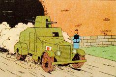 El Loto Azul - Vehículo blindado japonés