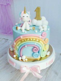 Fondant Cake Designs, Fondant Cakes, Cupcake Cakes, Pretty Birthday Cakes, Cute Birthday Cakes, Girl Cakes, Love Cake, Cute Cakes, Celebration Cakes