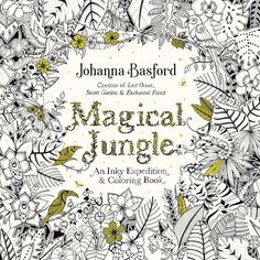 Magical Jungle Coloring B
