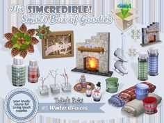 SIMcredible!'s Winter Choices – Sims 4 Updates -♦- Sims 4 Finds & Sims 4 Must Haves -♦- Free Sims 4 Downloads