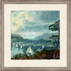 Crackled Majestic Harbor I - Landscape - Our Product