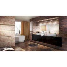 Eleganta suprema in baie- Colectia Miriam Home, Room Divider, Furniture, House, Room, Tv Wall, Fireplace, Room Decor, Bathroom Design