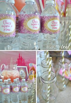 A Disney Princess Party on a Budget, plus free Printables! | A Shade Of Teal
