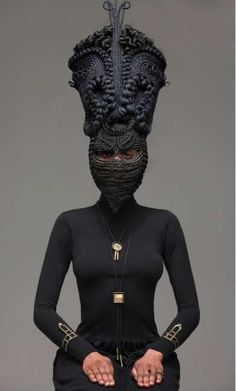 100 Face-Disguising Fashions - From Embellished Fashion Masks to Humanimal Headgear Editorials (TOPLIST)