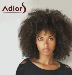 Fashion Medium Capless Fluffy Afro Curly Women's Heat Resistant Fiber Adiors Wig