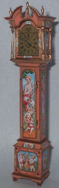 Cheribum Grandfather Clock by Natasha
