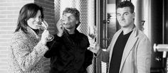 """The third generation, Antonio, Germano and Cornelia, has collected the legacy of their parents and the tradition of a family production, bringing the T.E.S.S.A.R.I wine in all continents, promoting the love for """"tera"""" in the world."""