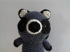 Amigurumi Crochet Raccoon Plush