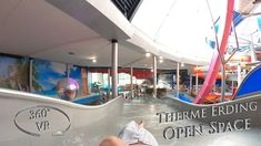 Therme Erding Open Space 360° VR POV Onride