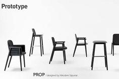 Timber 'Prop' Chair by Nikodem Szpunar | INDESIGNLIVE