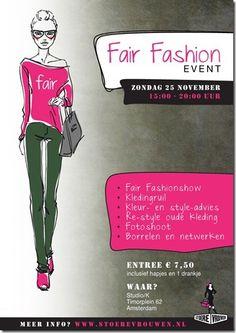 Flyer Fair fashion event