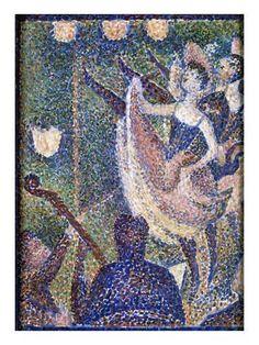 'Study for The Chahut' Georges Seurat oil on wood Courtauld Gallery London - UK Georges Seurat, Fondation Louis Vuitton, Monet, Seurat Paintings, Paul Gauguin, Impressionist Art, Art Uk, Art Plastique, Picasso