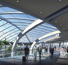 Tianjin Seashore Airport Terminal Building