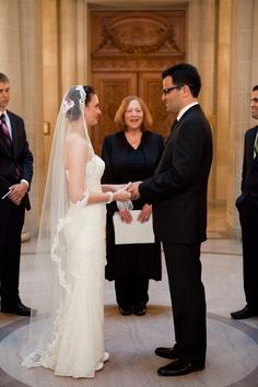 San Francisco City Hall Wedding: