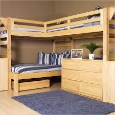 Image result for double and triple bunk beds built in
