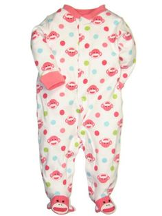 Baby Starters Baby-girls Newborn Sock Monkey « Clothing Impulse
