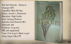 """""""Dark Elements - Steinerne Schwingen"""" ist der erste Band der Gargoyles und Dämonenreihe von Jennifer L. Armentrout, welcher mich wieder einmal begeistern konnte, trotz kleiner Defizite. Fantastische Wesen und eine spannende Story durchziehen den Reihenauftakt mit Luft nach oben. ~ fantasiereich ~ rasant ~ unterhaltsam"""