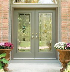 Brick houses bricks and paint on pinterest for French storm doors