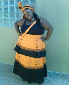 #Xhosaattire #proudsouthafrican Xhosa Attire, African Attire, African Wear, African Fashion Dresses, African Dress, South African Traditional Dresses, Traditional Dresses Designs, Traditional Wedding Dresses, Traditional Outfits